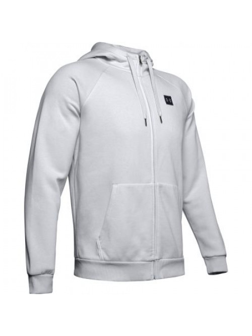 Herren Sweatshirt Under Armour RIVAL FLEECE PO HOODIE Grau