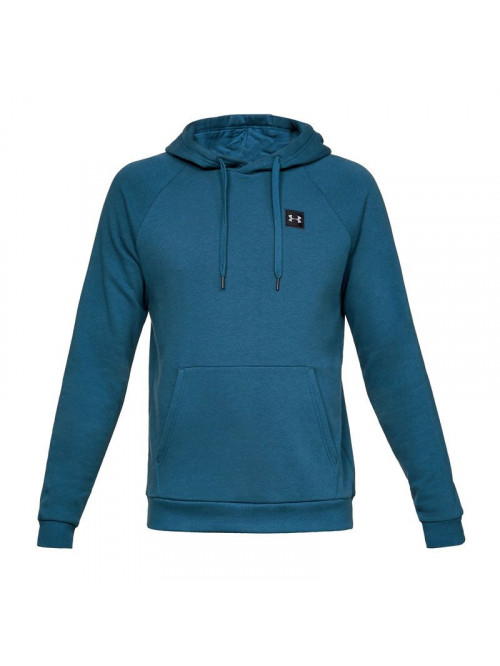 Herren Sweatshirt Under Armour RIVAL FLEECE PO HOODIE Blau