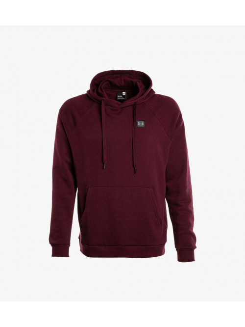 Herren Sweatshirt Under Armour RIVAL FLEECE PO HOODIE Bordeaux