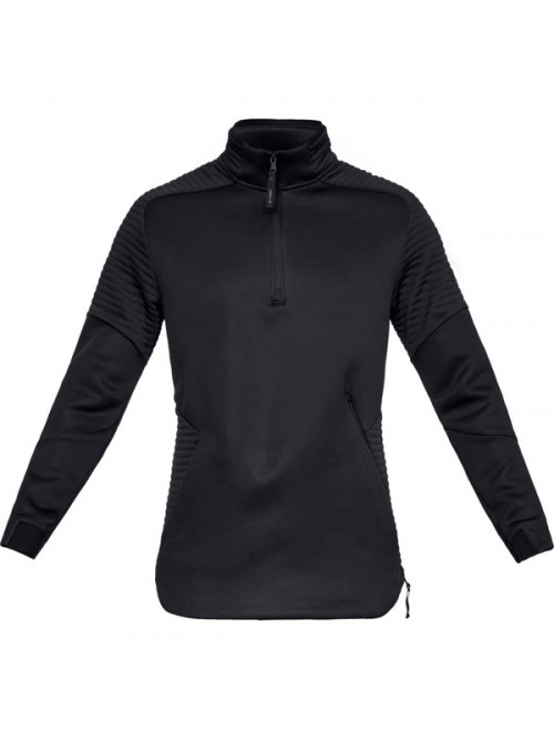 Herren Sweatshirt Under Armour Unstoppable Move 1/2 Zip Schwarz