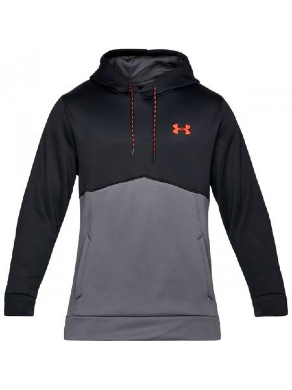 Herren Sweatshirt Under Armour AF Icon Solid Grau-Schwarz