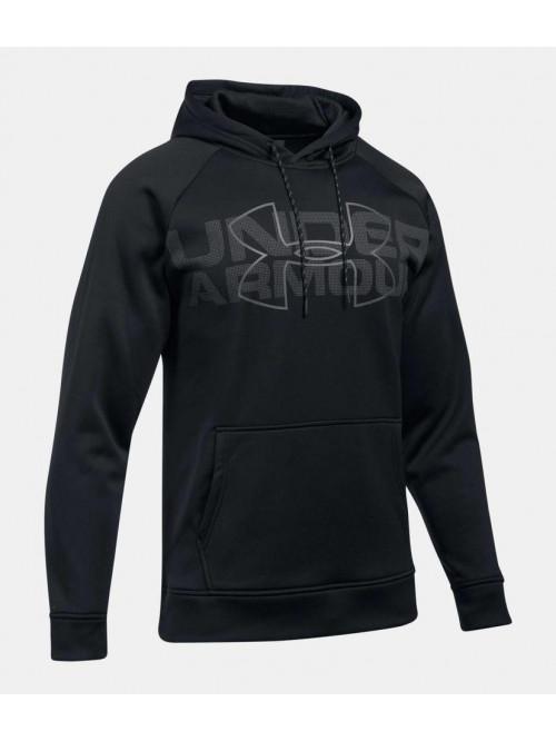 Herren Sweatshirt Under Armour CG Reactor Hoodie Schwarz