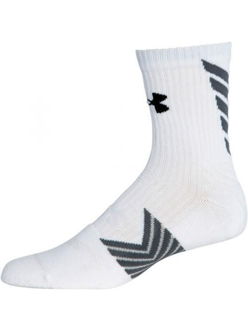 Herren Socken Under Armour Undeniable hohe weiße