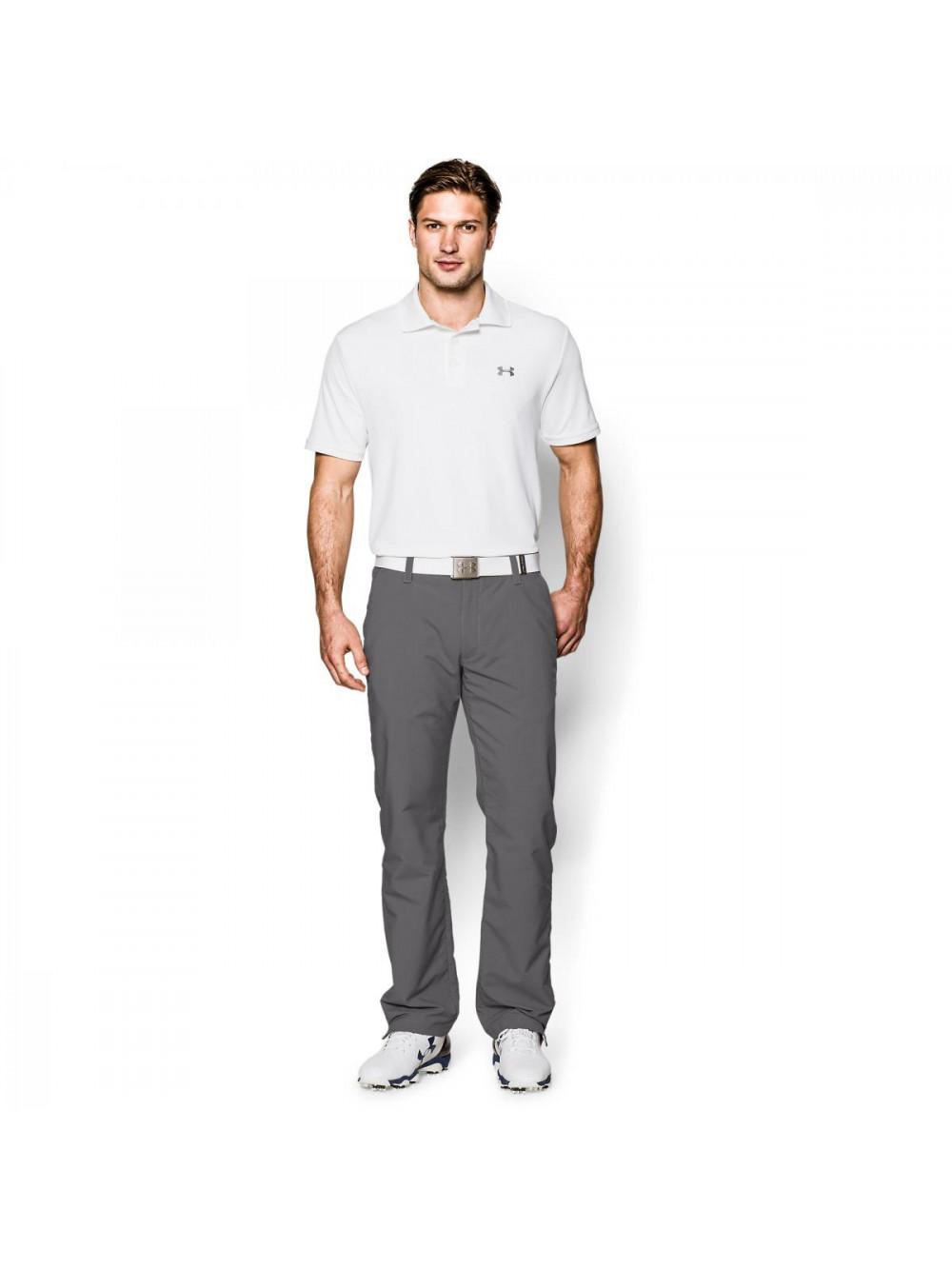 T-Shirt Under Armour Performance Polo weiß