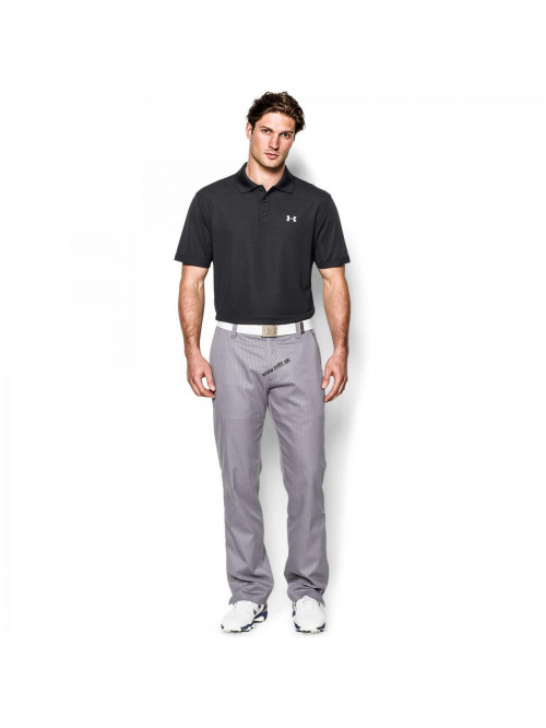 T-Shirt Under Armour Performance Polo schwarz