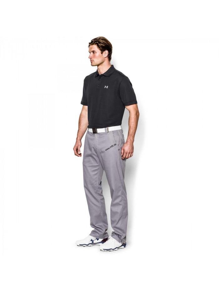 T-Shirt Under Armour Performance Polo schwarz