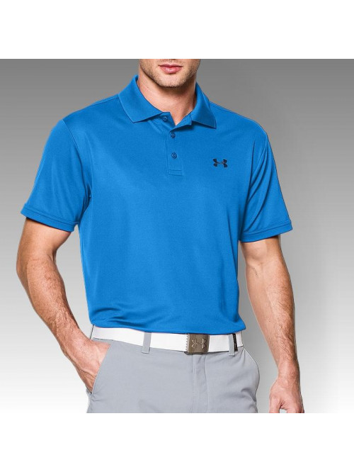T-Shirt Under Armour Performance Polo blau