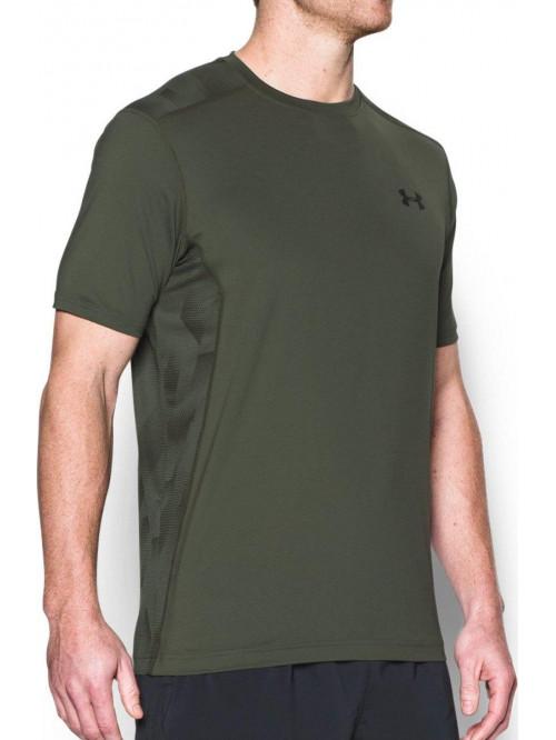 T-Shirt Under Armour Raid Tactical Armee grün