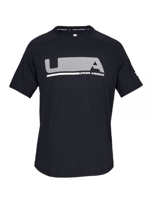T-Shirt Under Armour Unstoppable Move SS T-shirt schwarz
