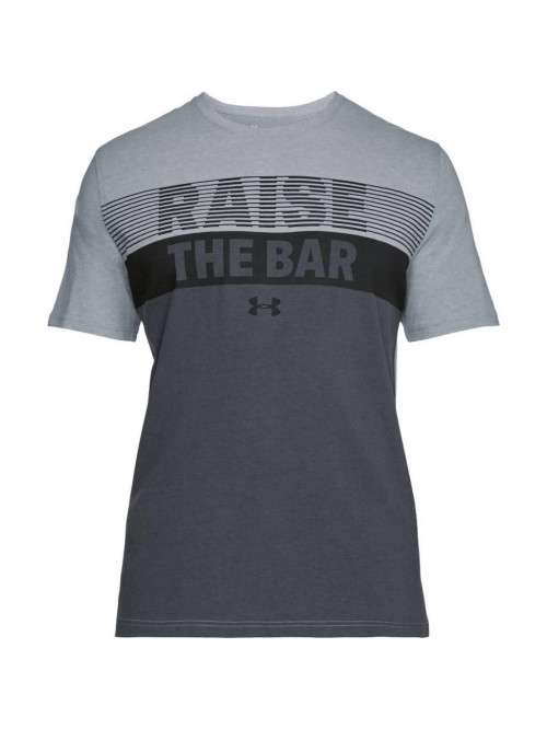 T-Shirt Under Armour Raise The Bar grau