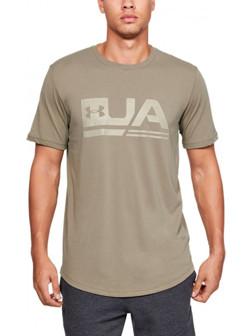T-Shirt Under Armour Sportstyle Drop Hem beige