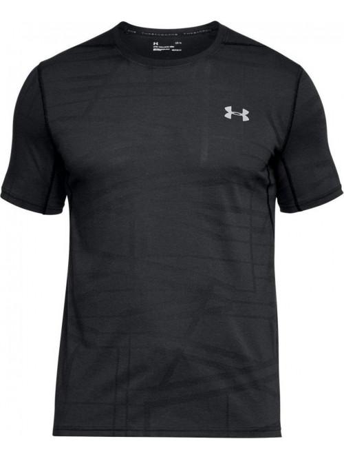 T-Shirt Under Armour Threadborne Elite schwarz