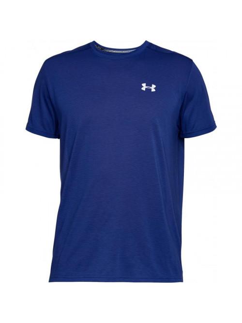 Herren T-Shirt Under Armour Threadborne Run Dunkelblau