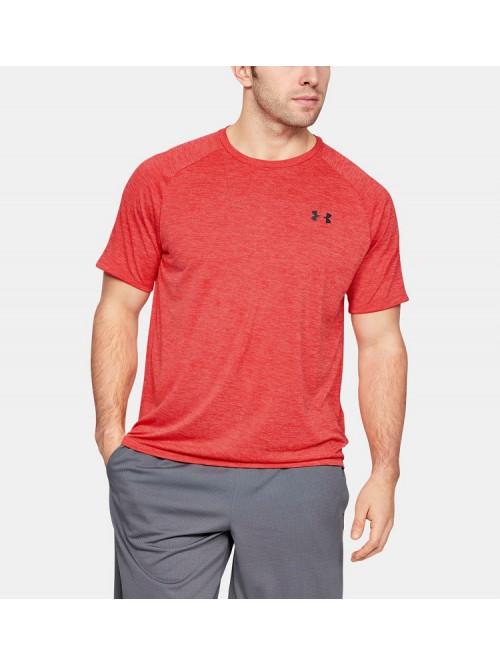 T-Shirt Under Armour TECH SS TEE rot