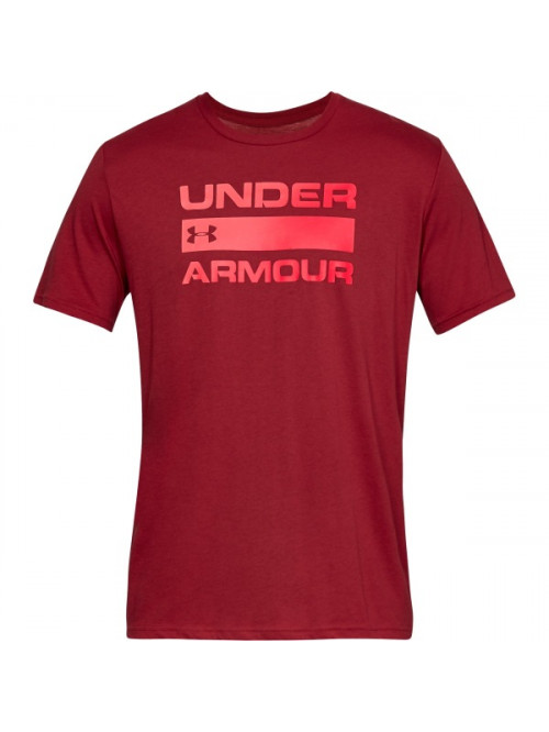 T-Shirt Under Armour Team Issue Wordmark rot