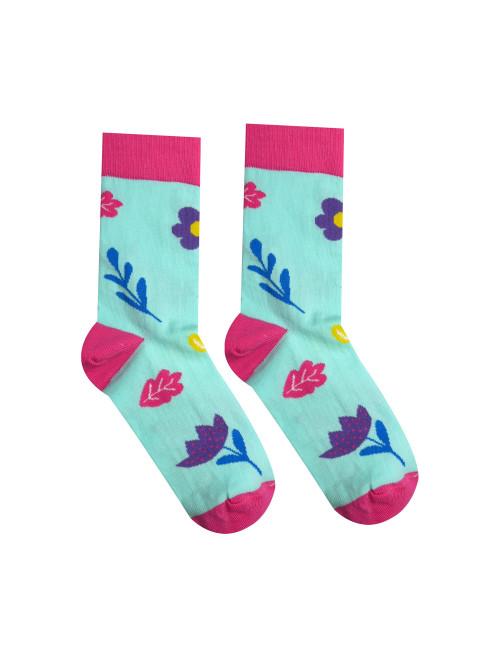 Socken Frühlingsblume