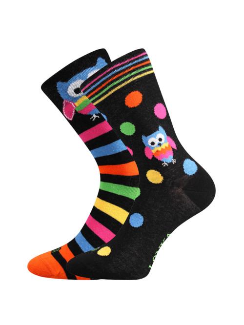 Socken Eule Lonka Doble