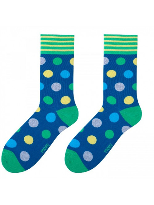 Socken Big Dot More - Blau