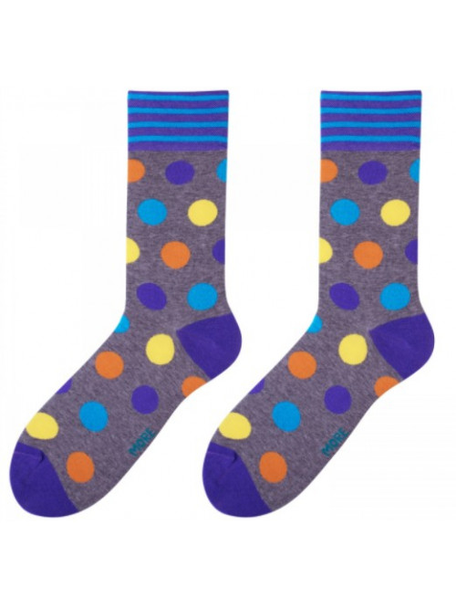 Socken Big Dot More - Grau
