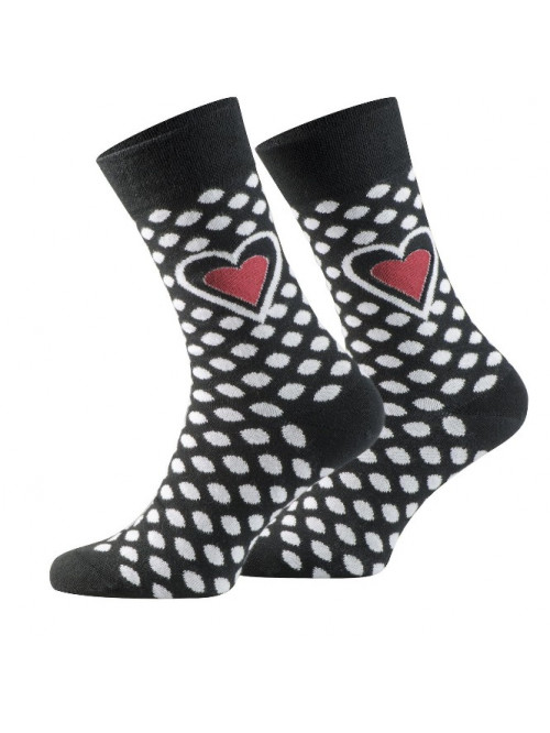 Socken Rotes Herz Walker's Dot