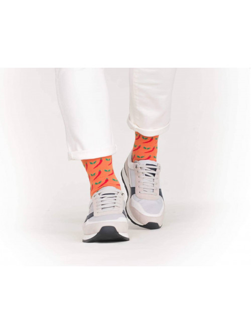 Socken Chilli Wolla - Orange