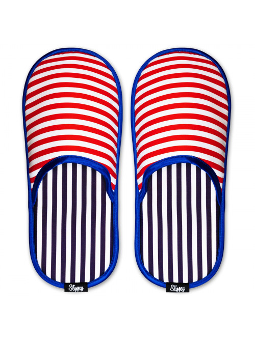 Hausschuhe Magic Stripes Slippsy