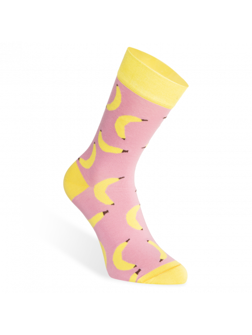 Socken Banana Slippsy