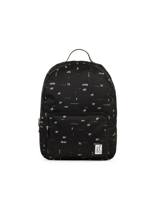 Rucksack TPS Classic Backpack - Black Numbers All-over - Schwarz