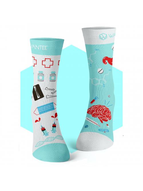 Socken Medical Blue Wantee