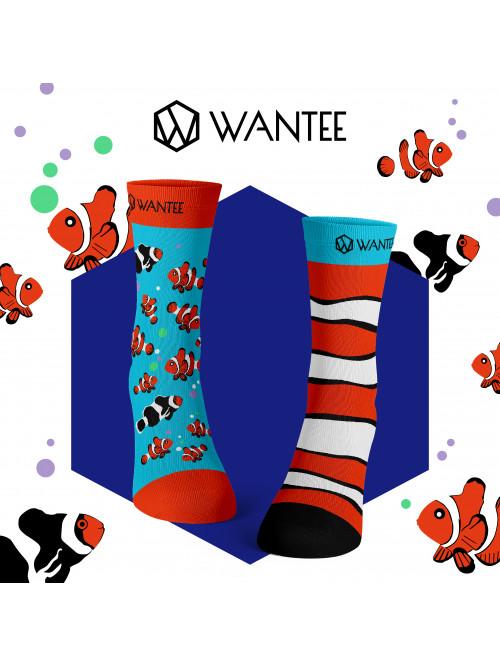 Socken Clownfisch Wantee