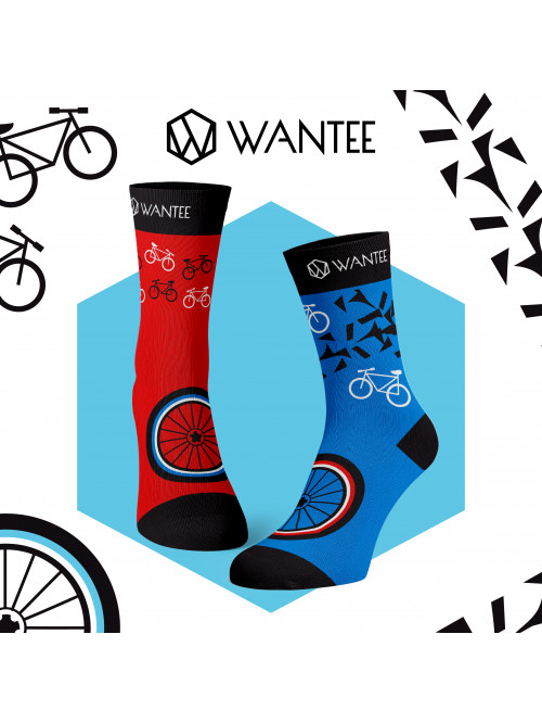 Socken Radfahrer Wantee