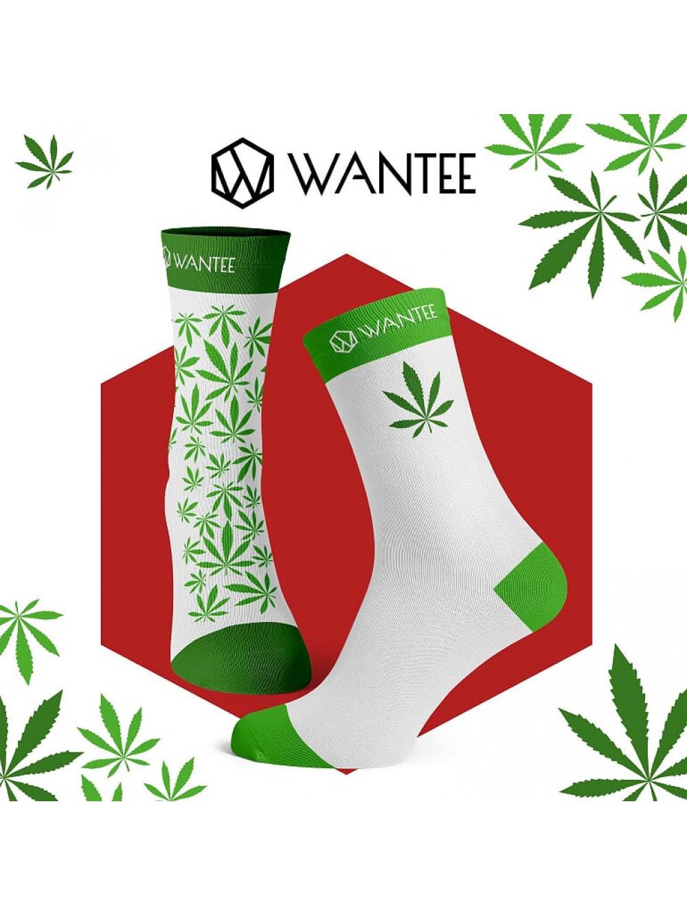 Socken Marihuana Wantee