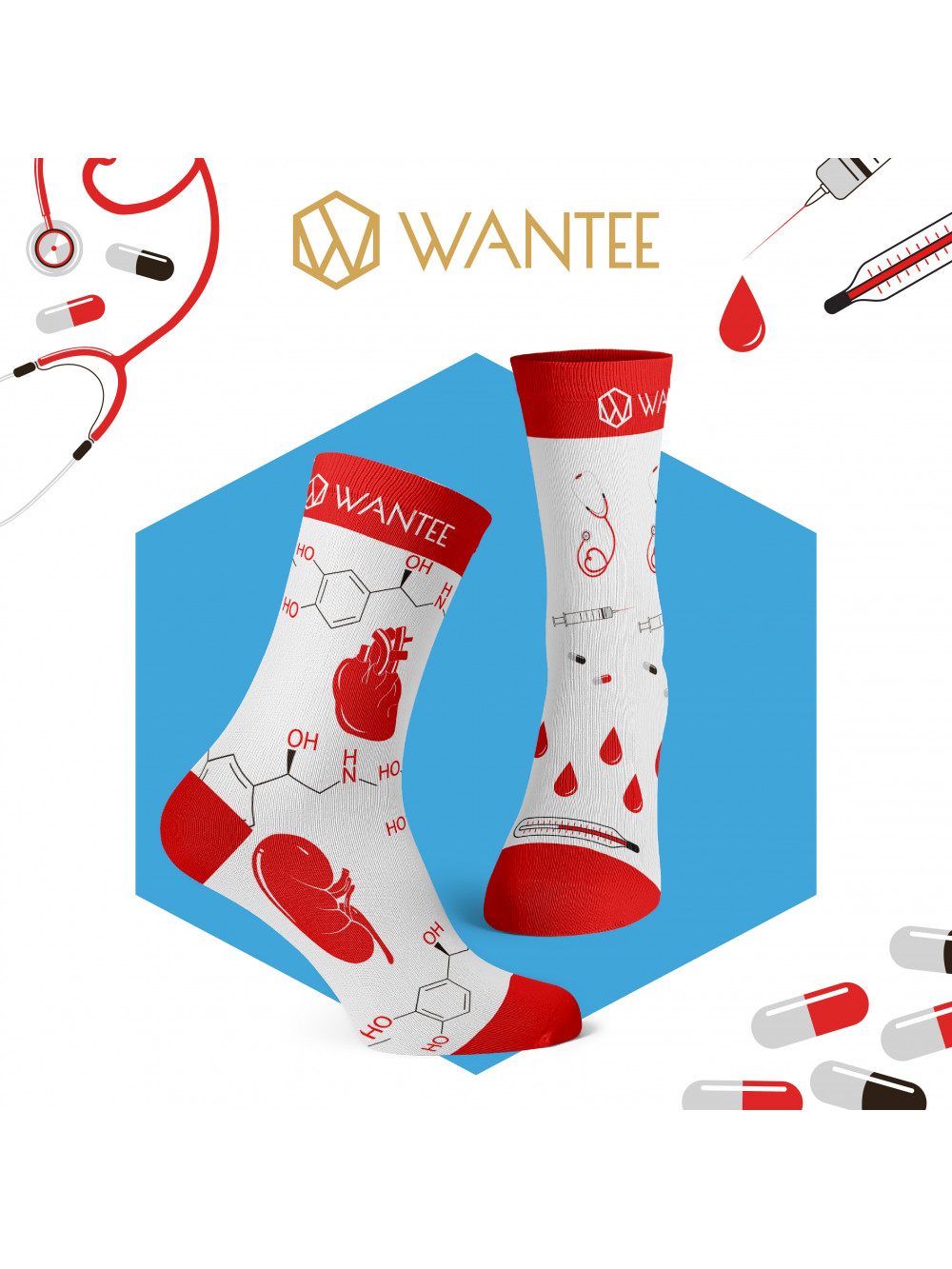 Socken Medical Wantee