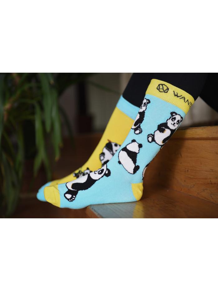 Socken Panda Wantee