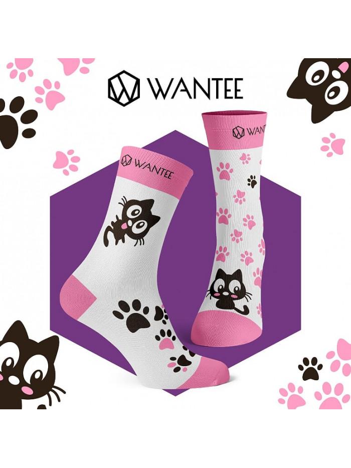 Socken Süße Katzen Wantee