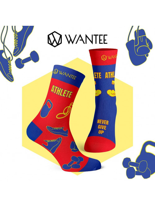 Socken Super Athlete Wantee